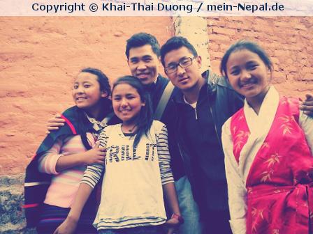 Und wieder zurück aus Nepal….