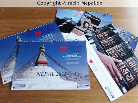 Nepal Kalender 2015 kaufen und gleichzeitig helfen
