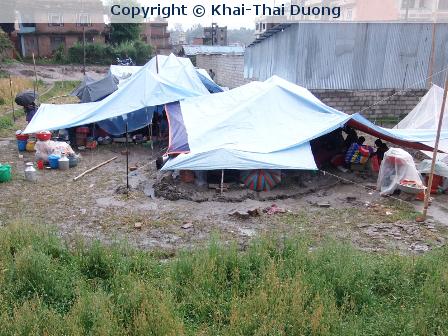 Starkes Nachbeben mitten in Kathmandu (22.07.15)