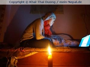 Khai-Thai allein in Nepal - Khai-Thai allein Zuhause (Foto: Khai-Thai Duong)