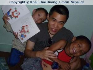 Von Sept. bis Nov. 11 war ich mit Projects Abroad in Nepal.