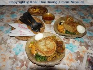Essen gehört zu meinen Lieblingsbeschäftigungen in Nepal.