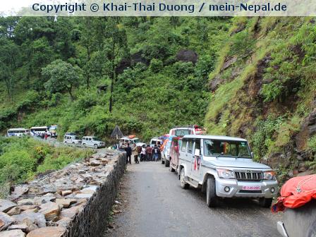 Nepal XI – Tag 20 – Verkehrschaos