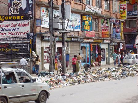 Nepal XI – Tag 27 – Mülldeponie