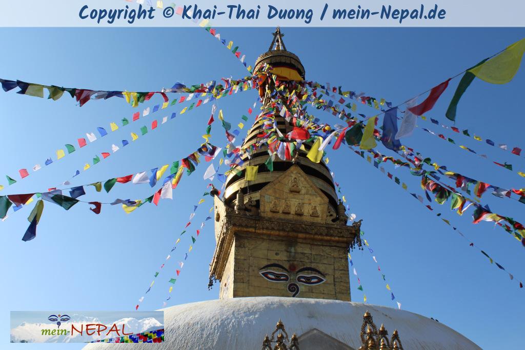 Die Legende um Swayambhu ist die Legende um die Entstehung des Kathmandu-Tals.