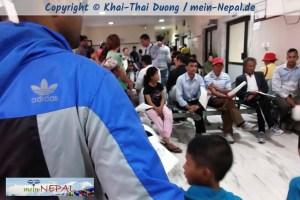 Im Tilganga Eye-Hospital Kathmandu (2013)