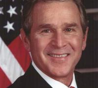 Bush official portrait