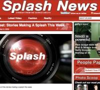 Geety Ad on Splashnews
