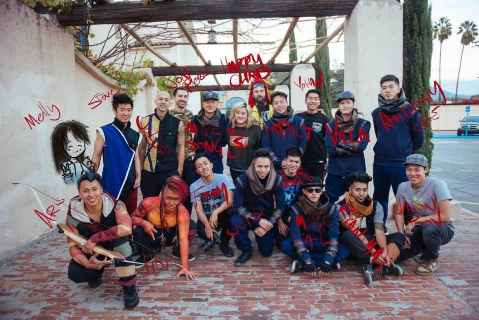KINJAZ VS QUEST Cast and Crew Photo