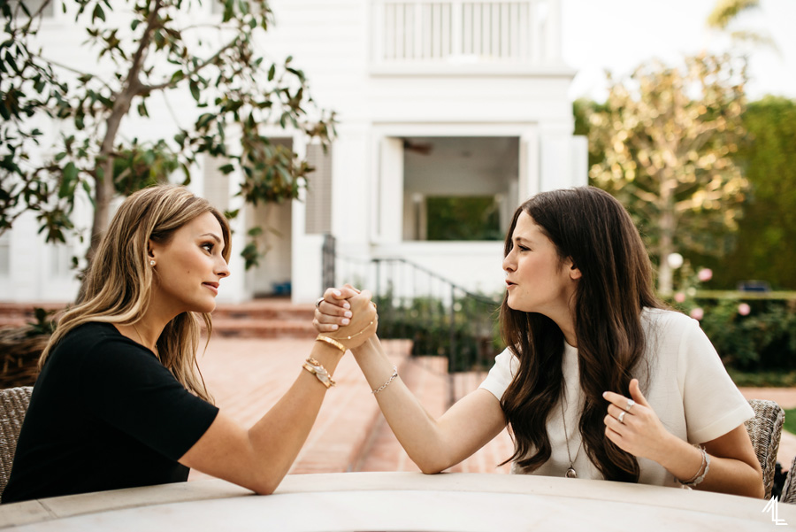 Yael Cohen and  Julie Greenbaum of Fuck Cancer by Melly Lee (mellylee.com)