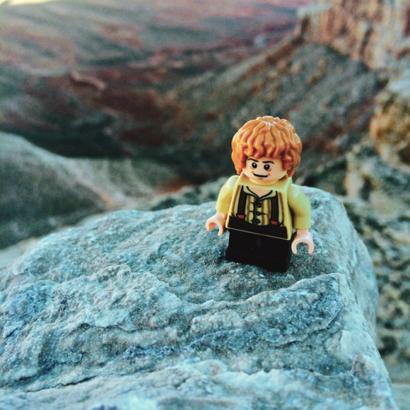 Lego Bilbo Baggins (Shire) in Havasupai by Melly Lee (mellylee.com)