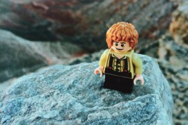 Lego Bilbo Baggins (Shire) in Havasupai by Melly Lee (mellylee.com)