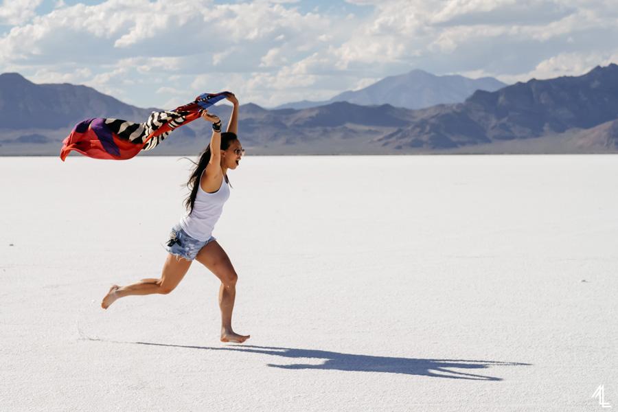 Bonneville Salt Flats by Melly Lee (mellylee.com)