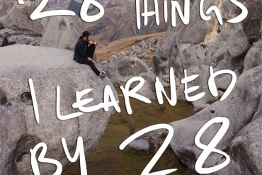 life lessons, 28 things i learned by 28
