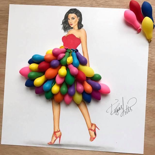 Robe de de ballons