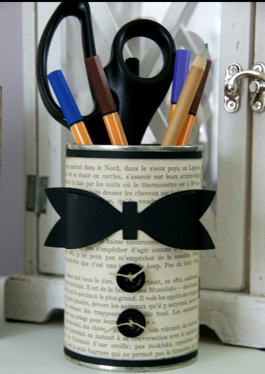pot à crayon chic