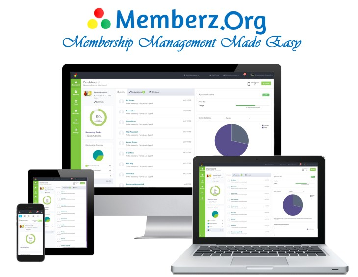 Memberz.Org - Available on Desktop and Mobile.