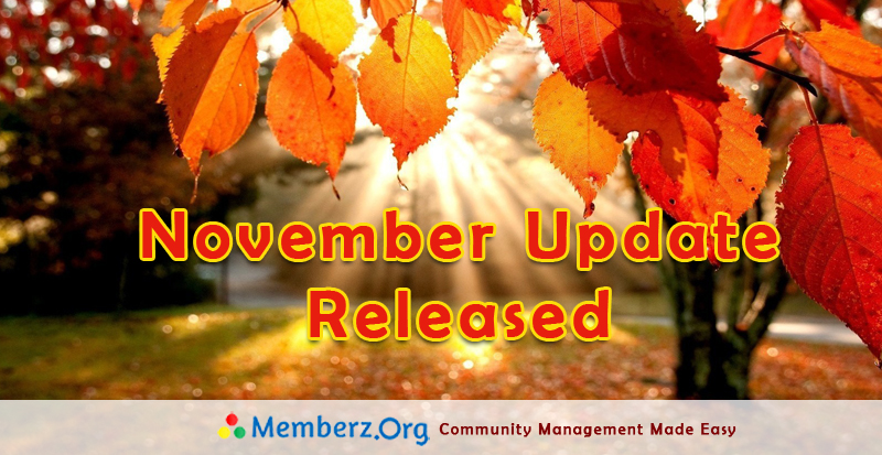 November 2015 Update – Focus On Performance