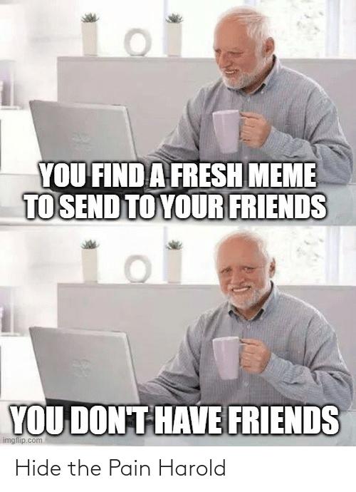 hide the friends