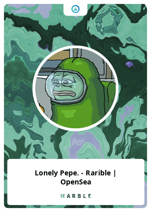 lonely pepe