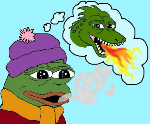 pepe feeling firey
