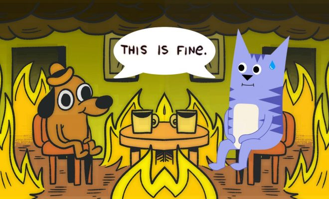 this is fine friends