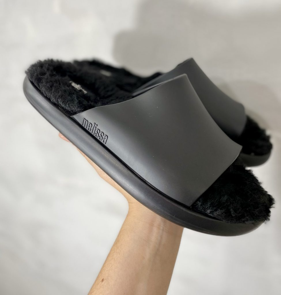 melissa fluffy slide