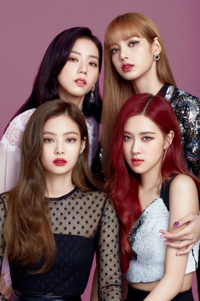 moda k-pop black pink