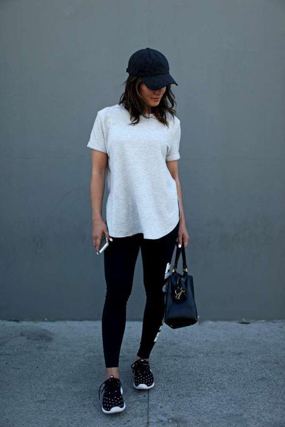 look camiseta basica
