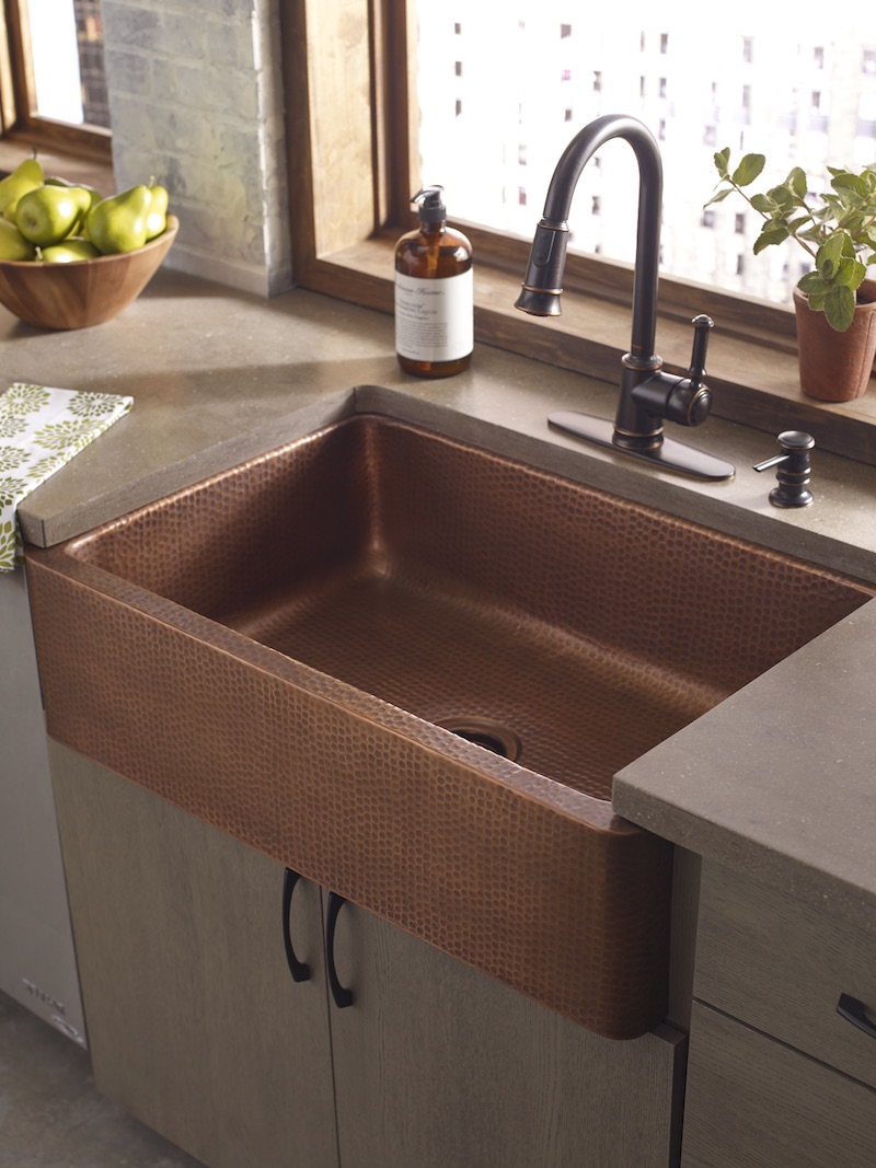 new kitchen sink faucets bronze our guide to selecting a material for your 5