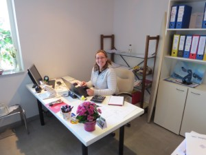 Snjezana - in the office