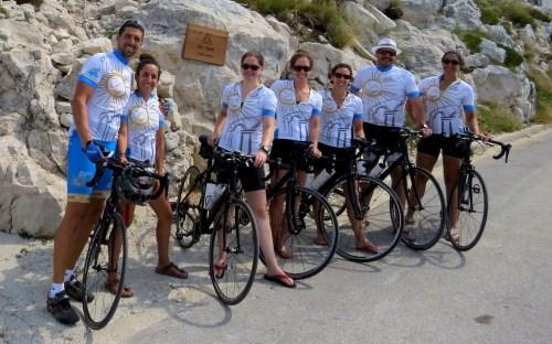 Challenging bike tours Croatia