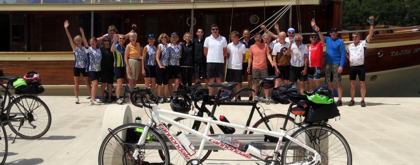 Bike and Sail tours Croatia