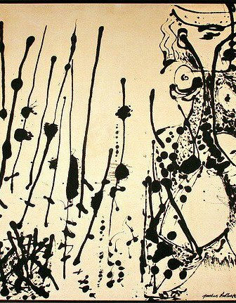 Number 7, 1951 by Jackson Pollock