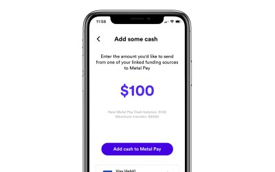 How do I add Cash to Metal Pay?