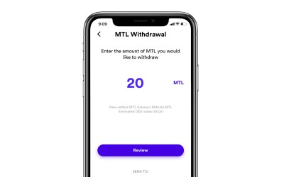 How do I withdraw crypto from Metal Pay?