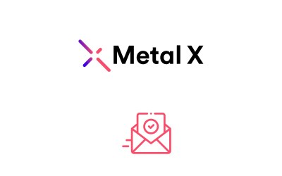 How do I resend my activation email in Metal X?