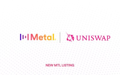 Metal (MTL) is now listed on Uniswap