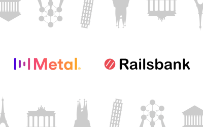 Metal Pay partners with Railsbank to launch our services in Europe