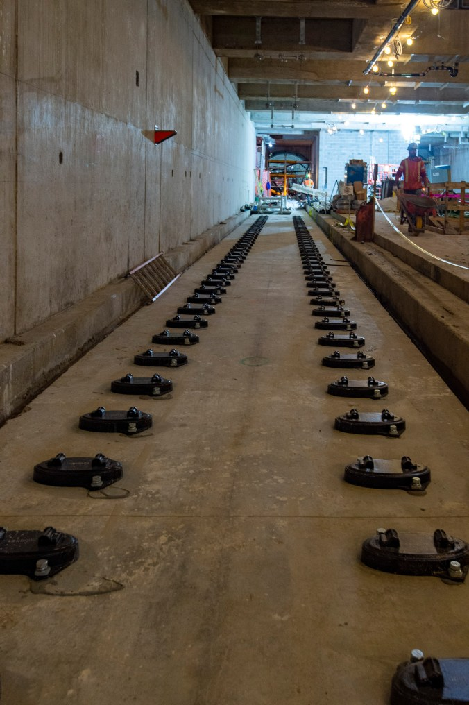 A line of track pads is shown.