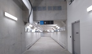 The new West Tunnel at Bramalea GO.