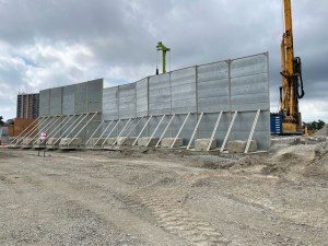 Image shows a wall.