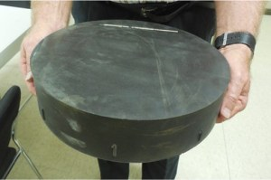 Image shows one of the pads.