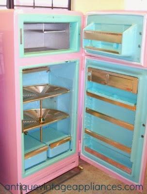 Pink Cellar Fridge