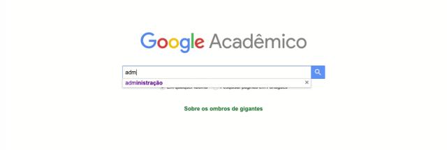 google acadeimico - busca