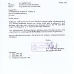 Pengumuman dan Informasi Kuliah Batch 8 D3-D4 ITB Gelombang 1