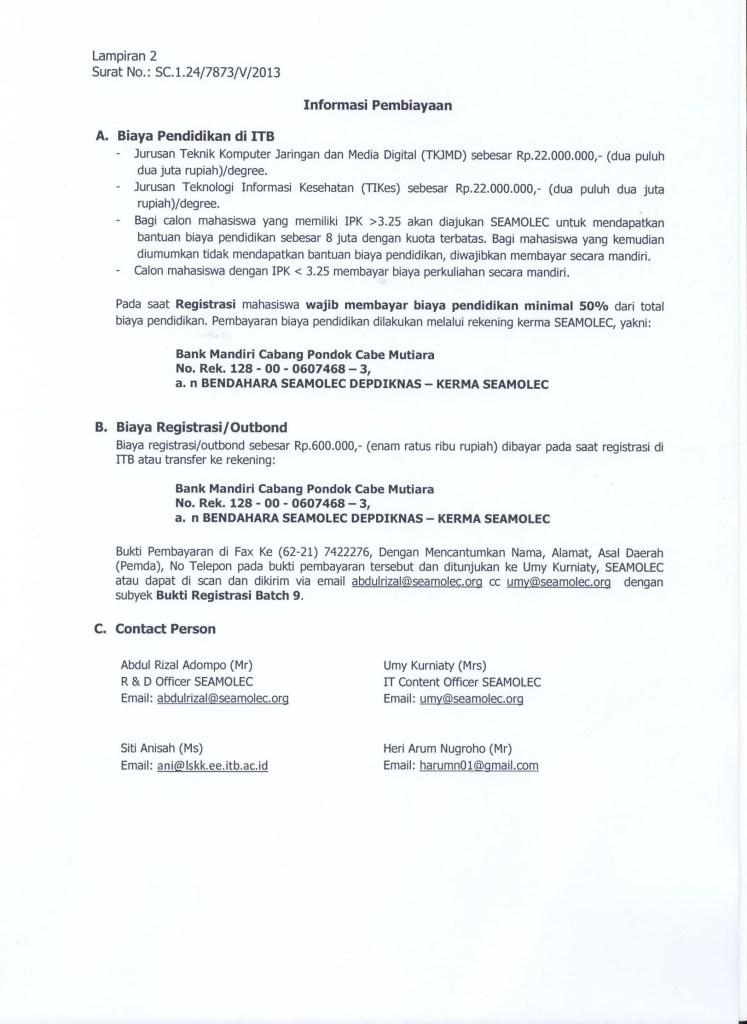 Pengumuman D3-D4 ITB-SEAMOLEC Batch9-002