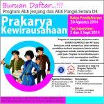 Pendaftaran Program Alih Jenjang D3-D4 dan Alih Fungsi S1-D4 Kerjasama SEAMOLEC, ITB, Politeknik TEDC, Politeknik Negeri Bandung, Politeknik Manufaktur Bandung