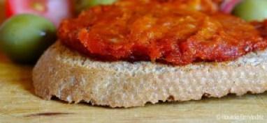 paté de tomates secos