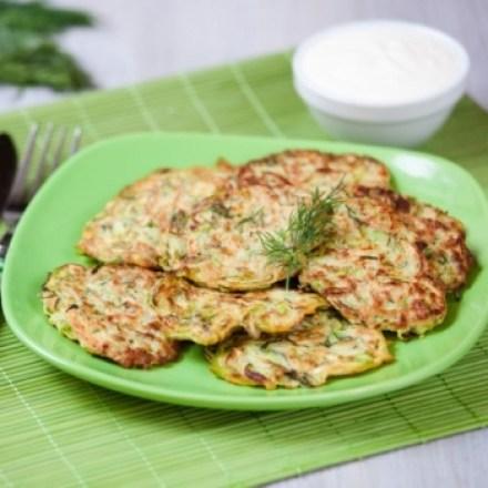 receta de tortillitas de la huerta veganas